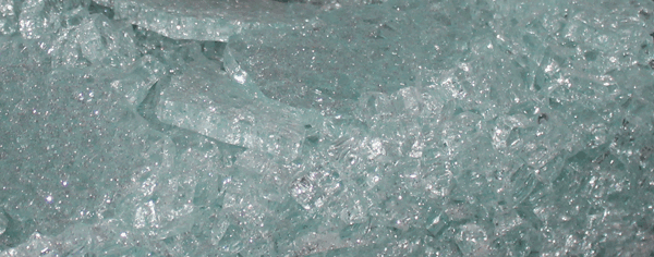 ESG Glas Bruchbild