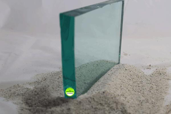 Glasplatte 19mm